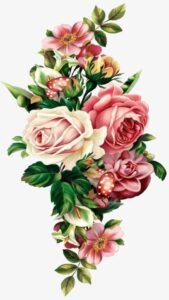 descartar wallpaper flores vintage hd