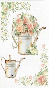 flores vintage fondo
