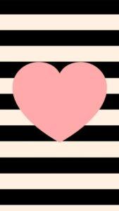 fondos de corazones rosados para celular